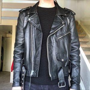 Vintage Wilson's Leather Biker Jacket